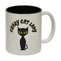 Funny Mugs Crazy Cat Lady Animal Pet Cat Dog Christmas Present NOVELTY MUG
