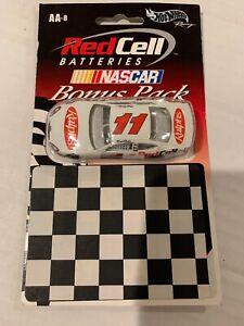 2001 HOT WHEELS NASCAR RED CELL BATTERIES PROMO BONUS PACK CAR #11