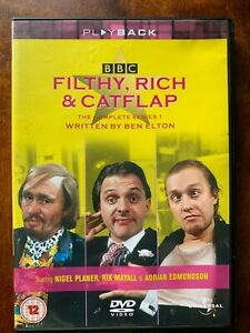 Filthy, Rich and Catfap DVD Box Set 1987 BBC TV Comedy Series w/ Rik Mayall