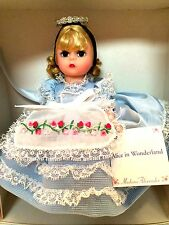 Madame Alexander 1996 Alice in Wonderland Doll 8 inches Tall In Box #13001