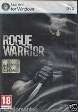 PC Gioco **ROGUE WARRIOR** Nuovo Originale Italiano