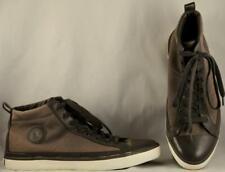 Men's Polo Ralph Lauren Clarke Olive Canvas Casual Ankle Boots US 13 D
