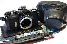 ASAHI PENTAX SPOTMATIC SP RARE peinture noire 35 mm Caméra SLR corps, travaillant d'obturation