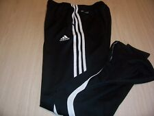 ADIDAS CLIMACOOL BLACK AND WHITE ATHLETIC PANTS MENS MEDIUM EXCELLENT CONDITION