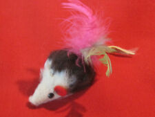 Vintage fur mouse toy