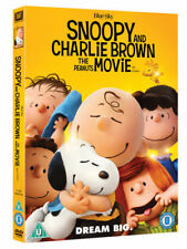 Snoopy and Charlie Brown - The Peanuts Movie DVD (2016) Steve Martino ***NEW***