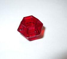 1 One Original Milton Bradley Fireball Island Game Part Piece Red Jewel VGC