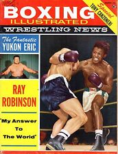 1960 (Mar.) Boxing Illustrated/Wrestling News magazine, Ray Robinson ~ Fair