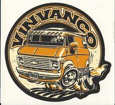 Chevy Vintage Van Sticker - 3rd Generation - Peel and Stick VinVanCo