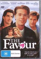 THE FAVOUR - BRAD PITT BILL PULLMAN COMEDY NEW DVD MOVIE SEALED