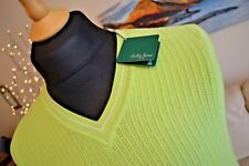BOBBY JONES NEW V-Neck Body Warmer Golfing Top Pistachio Green Mens Sz XXL BNWT