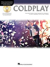 COLDPLAY INSTRUMENTAL FOLIO (TRUMPET) PLAY ALONG SHEET MUSIC SONG BOOK W/CD