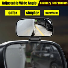 Adjustable Wide Angle parking Auxiliary Blind Spot Side Rear Mirrors