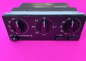 1993-1997 Volvo 850 GLT ATC OEM Automatic Heater Climate Control 9166550