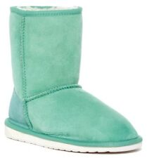 EMU Australia Women's Stinger Lo Genuine Sheepskin Winter Boots Mint Size 9