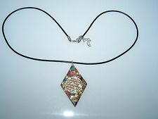 Halskette Blume des Lebens Orgon Orgonit Anhänger f. Kette viele Heilsteine
