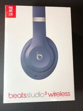 Beats by Dr Dre Studio 3 Wireless Headphone [ BLUE Edition ] NEW