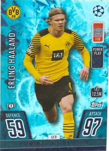 MATCH ATTAX 2021/22 21/22 ERLING HAALAND DIAMOND LIMITED EDITION NO LE D