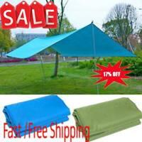 Waterproof Camping Tent Tarp Outdoor Shade Sun Rain Shelter Mat Canopy Hot