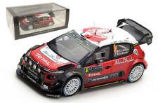 Spark S5159 Citroen C3 WRC Monte Carlo 2017 - Stephane Lefebvre 1/43 Scale