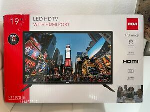"""RCA 19"""" HD TV RT1970-B  TELEVISION WITH HDMI PORT Fast Shipping"""
