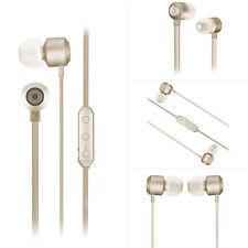 Kitsound Sans-fil anti Emmêlement Écouteurs avec en Ligne Microphone - Or Rose