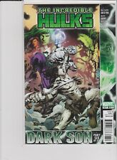 MARVEL COMICS THE INCREDIBLE HULKS # 616  DARK SON PT 6 PAK/OLIVETTI VF/NM 2010