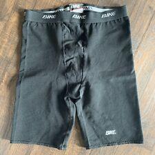 Men's or women's BIKE Black Cycling Liner Shorts Large use Measurements