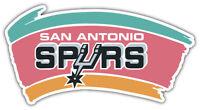 "San Antonio Spurs  NBA Basketball Car Bumper Sticker Decal ""SIZES"" ID:8"
