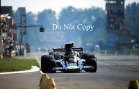 Ronnie Peterson JPS Lotus Italian GP 1974 Photograph 4