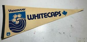 Vintage 70's NASL Vancouver Whitecaps Soccer Pennant