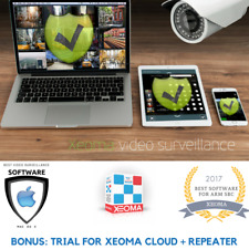 CCTV, IP Camera and Video Surveillance Software Xeoma Pro for 4 cameras + BONUS