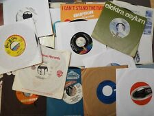 """$1.17 To $3.47 7"""" 45 Rpm Record Blowout Sale Rock Pop R&B 60s 70s 80s (R)"""