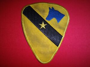 US 1st Cavalry Division 2nd Brigade COMMANDER/STAFF Patch