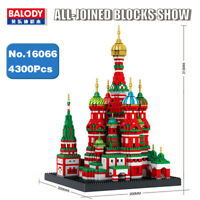 Balody Vasile Assumption Cathedral Church Building Bricks model Blocks Toys Gift