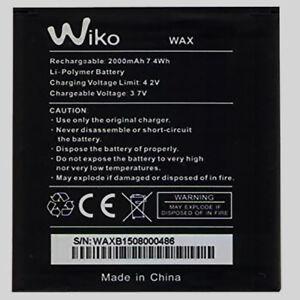 Original Wiko WAX Accu Battery for Wiko WAX Accu for Wiko WAX