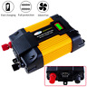 6000W Power Inverter DC 12V to AC 220V-240V Car Converter Cigarette Lighter Plug