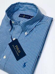 Ralph Lauren Men's Regular Fit Cotton Shirt       (Blue)    RRP £109
