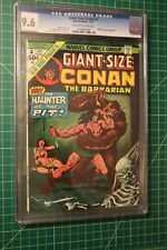 CONAN THE BARBARIAN GIANT-SIZE #2 CGC GRADED AT 9.6 OFF-WHITE TO WHITE PAGES