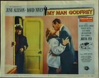 My Man Godfrey Original 1950s Lobby Card David Niven June Allyson
