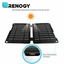 10 Watt Monocrystalline Portable Folding Solar Panel with USB Port Waterproof