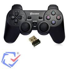 Mando Controlador de videojuegos PC PS3 USB 2.0 Inalámbrico 12 botones Gamepad