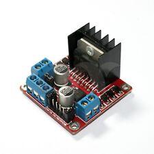 Dual H Bridge DC Stepper Motor Drive Controller Board Module Arduino L298N