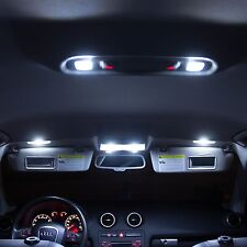 Audi A6 C7 A7 LED Xenon White Interior Lights Bulbs Kit Error Free Canbus