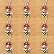 LOT 9pcs DISNEY MINNIE MOUSE GIRLS KIDS NECKLACES BIRTHDAY PARTY FAVORS GIFTS