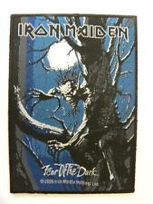 Iron Maiden Fear of the Dark rock music band patch FREE SHIP j4 iron on decal UK