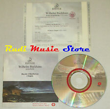 CD WILHEM BACKHUS Pianoforte HAYDN BEETHOVEN tempesta CHOPIN  ermitage lp mc dvd