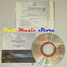 CD WILHEM BACKHUS Pianoforte HAYDN BEETHOVEN tempesta CHOPIN  ermitage lp mc dvd
