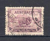 Australia 1934 9d Macarthur FU CDS