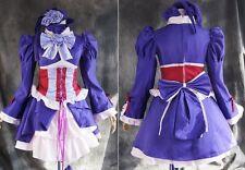 A-141 talla XL Hitman Reborn Chrome Dokuro cosplay Gothic Lolita lila vestido disfraz